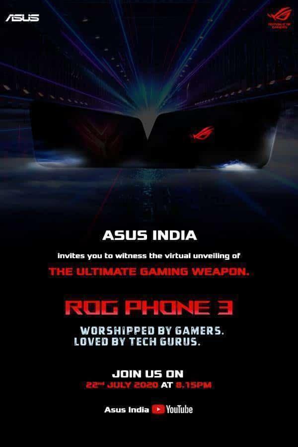 rog phone 3 invite